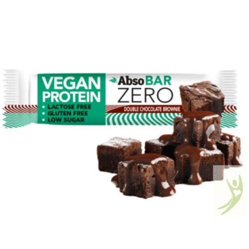 AbsoBAR Zero Vegán Protein szelet - Dupla csokoládés brownie 40 g