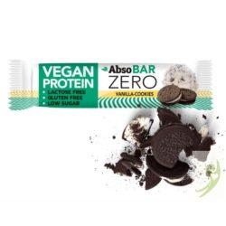 AbsoBAR Zero Vegán Protein szelet - vaníliás keksz 40 g
