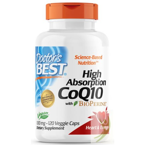 Doctor's Best High Absorption CoQ10 100 mg 120 db