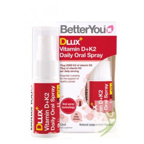 BetterYou DLux+ D3+K2 vitamin szájspray 12 ml