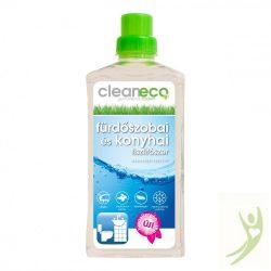 CleanEco Bio Fürdőszobai és Konyhai tisztítószer - szanitertisztító 1000 ml