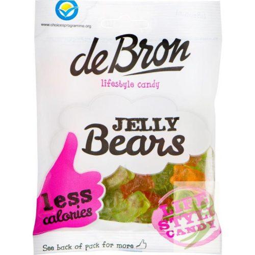 deBron Jelly Bears - Cukormentes MACI gumicukor 90 g