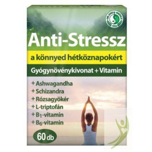 Dr. Chen Anti-Stressz Gyógynövénykivonat + Vitamin 60 db