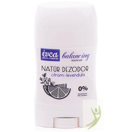 Évca Natúr dezodor Balancing - Citrom-levendula 50 g (cink-oxidos)