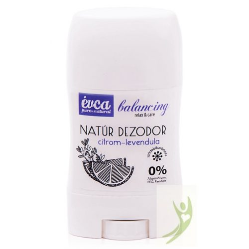 Évca Natúr dezodor Balancing - Citrom-levendula 50 g (szódabikarbónás)
