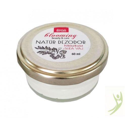 Évca Natúr krémdezodor Blooming - Hibiszkusz 60 ml (cink-oxidos)