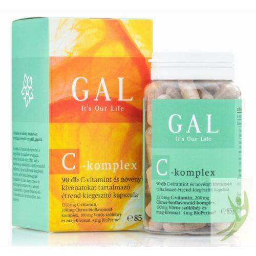 GAL C-komplex Citrus bioflavonoid Vörös szőlőmag kivonat 90 db