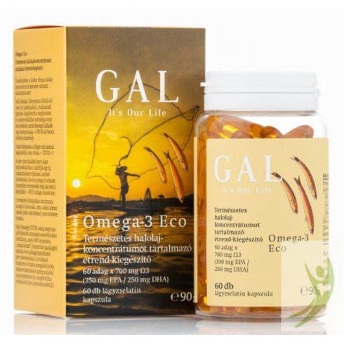 GAL Omega-3 Eco halolaj kapszula 60 db