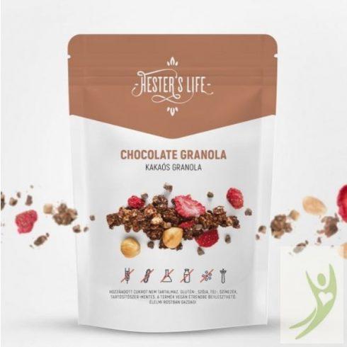 Hester's Life CHOCOLATE Granola - Gluténmentes Kakaós Granola 60 g