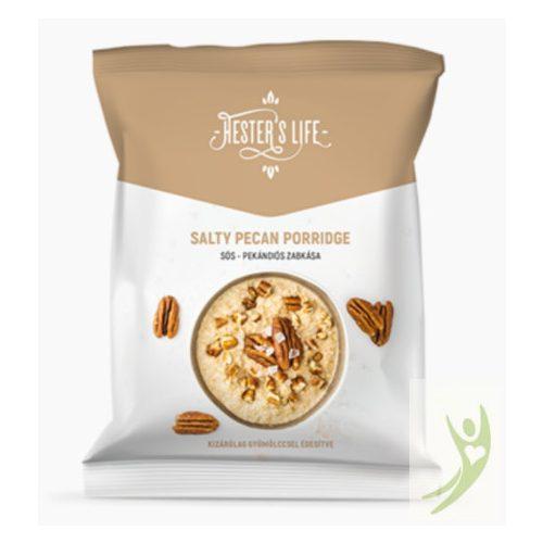 Hester's Life SALTY PECAN PORRIDGE - Gluténmentes Sós-Pekándiós Zabkása 50 g