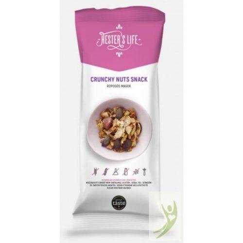 Hester's Life CRUNCHY Nuts Snack - Gluténmentes Ropogós magok 60 g
