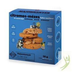 Majomkenyér CITROMOS-MÉZES keksz 50 g