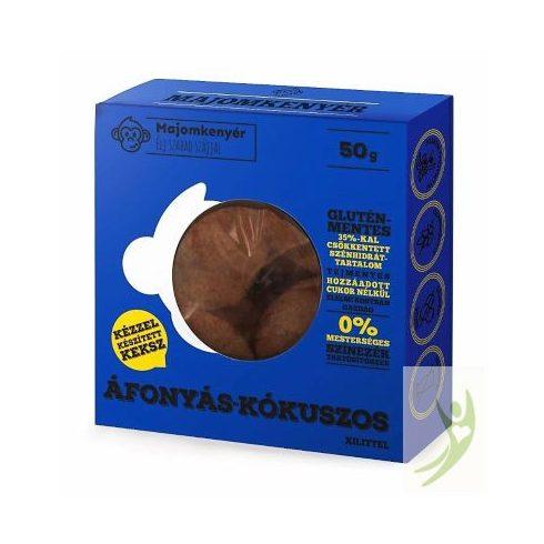 Majomkenyér ÁFONYÁS-KÓKUSZOS paleo keksz 50 g