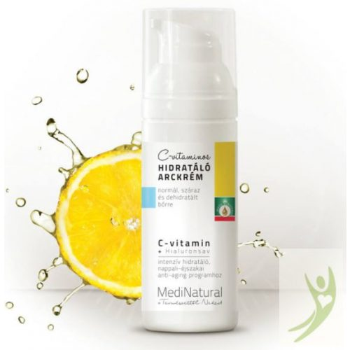 MediNatural C-vitaminos Hidratáló arckrém 50 ml