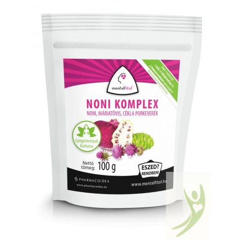 MentalFitol NONI komplex - Noni-máriatövis-cékla italpor 100 g
