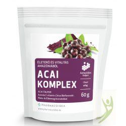 MentalFitol ACAI komplex - Acai berry és Acerola italpor 60 g