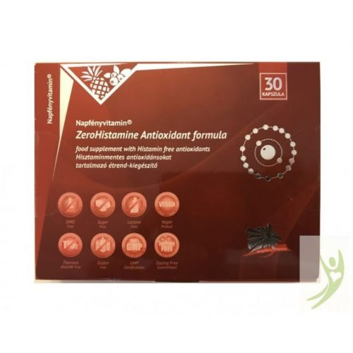 Napfényvitamin ZeroHistamine Antioxidáns formula 30 db
