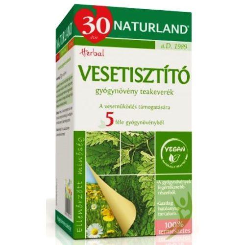 Naturland Vesetisztító gyógynövény teakeverék 20x1,6 g filter