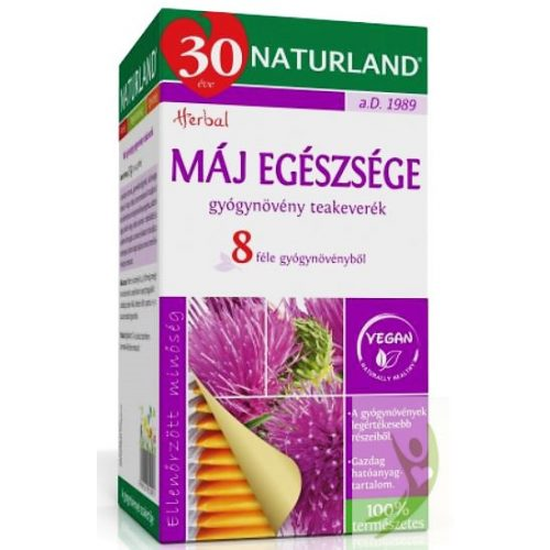 Naturland Máj Egészsége gyógynövény teakeverék 25x1 g filter