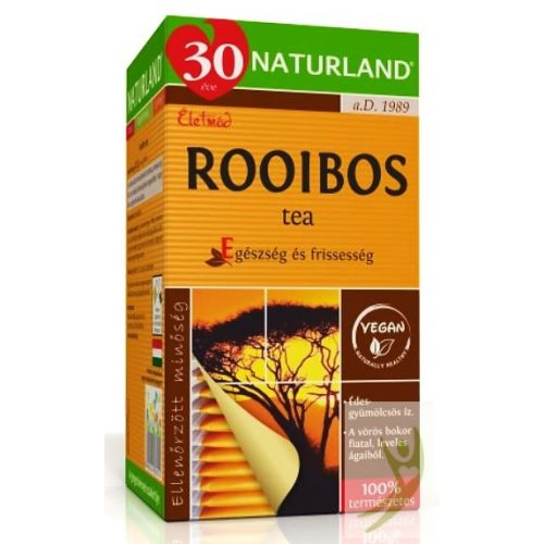 Naturland Rooibos tea 20x1,5 g filter