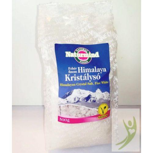 Naturmind Himalaya kristálysó - fehér finomszemcsés 500 g