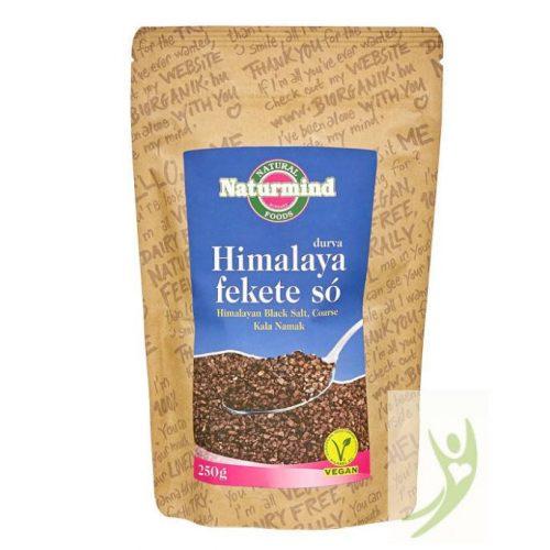 Naturmind Himalaya Fekete só DURVA szemű 250 g