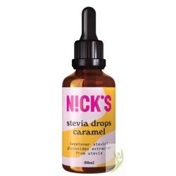 Nick's Stevia drops - Karamellás stevia cseppek 50 ml
