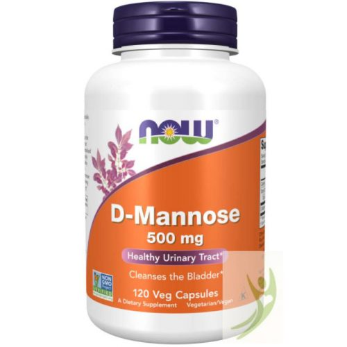 Now D-Mannose 500 mg 120 db