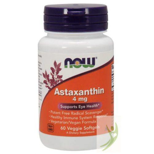 Now Astaxanthin 4 mg 60 db
