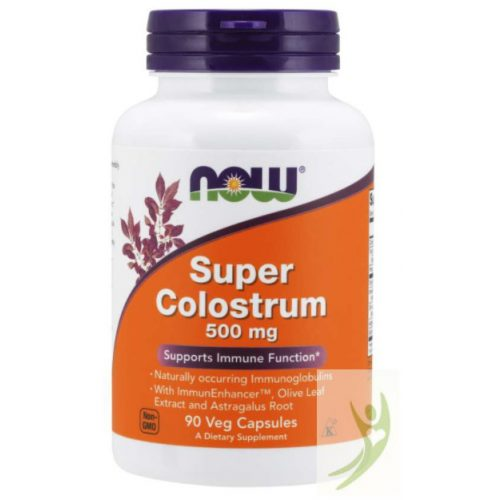 Now Super Colostrum 500 mg 90 db