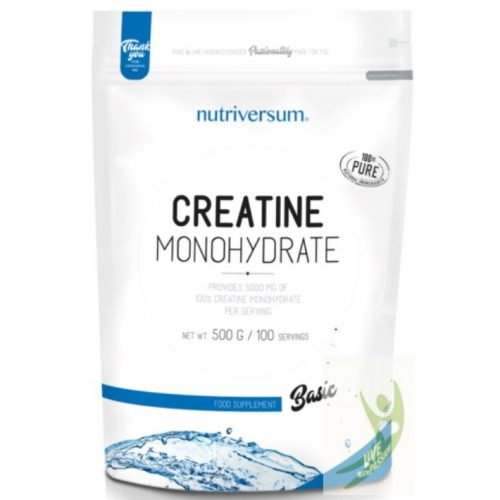 Nutriversum BASIC Creatine Monohydrate 500 g