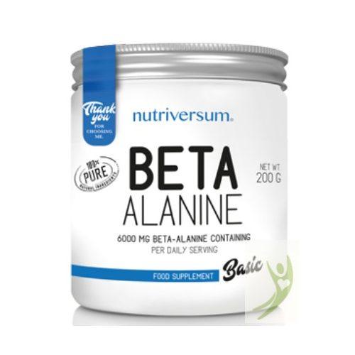 Nutriversum BASIC Beta-Alanine - ízesítetlen 200 g