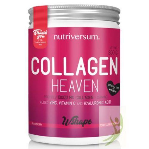 Nutriversum WSHAPE Collagen HEAVEN - Kollagén komplex Málna ízben 300 g