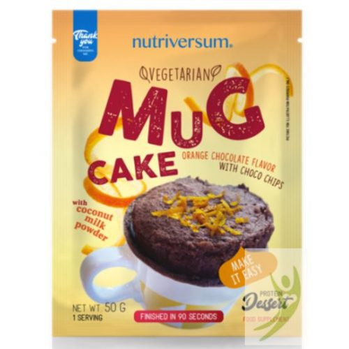 Nutriversum Dessert Mug Cake - Narancsos-csokoládé Protein bögrés süti 50 g