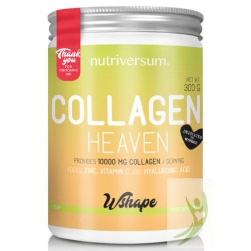 Nutriversum WSHAPE Collagen HEAVEN - Kollagén komplex Körte ízben 300 g