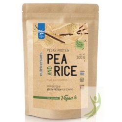 Nutriversum Gluténmentes Vegán rizs és borsó növényi fehérje VANÍLIA 500 g