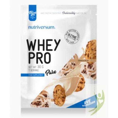 Nutriversum PURE Whey Pro Cookie&Cream protein 30 g