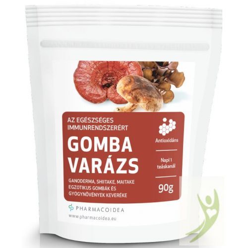 Pharmacoidea GOMBA Varázs - Ganodherma-Shiitake-Maitake gyógygombák 90 g