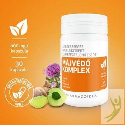 Pharmacoidea MÁJVÉDŐ Komplex - Eclipta alba-Máriatövis-Kolin 30 db