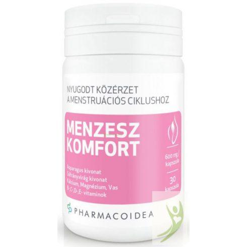 Pharmacoidea MENZESZ Komfort - Asparagus-Sáfrányvirág kivonat-kálcium-magnézium-vas 30 db