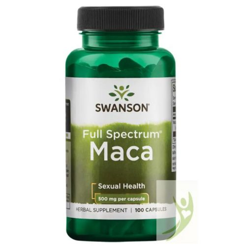 Swanson Maca Full Spektrum 500 mg 100 db