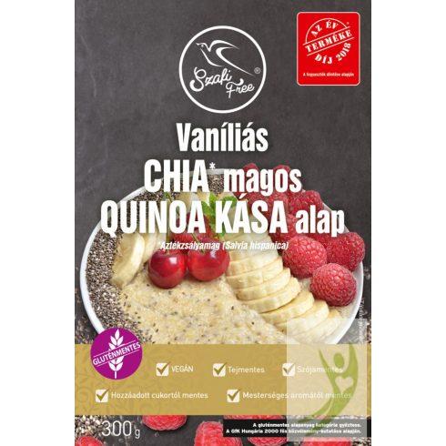 Szafi Free Reggeliző Vaníliás CHIA magos Quinoa Kása alap 300 g