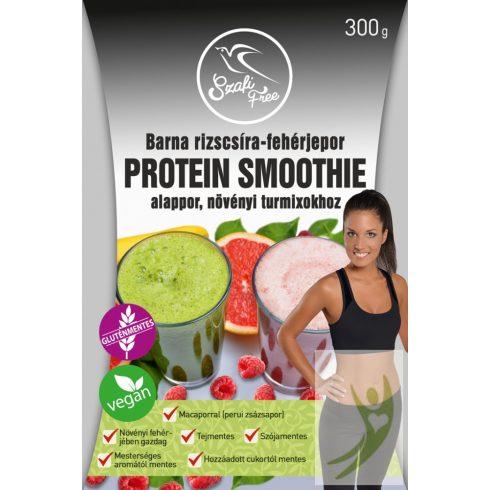 Szafi Free Barna rizscsíra-fehérjepor Maca Protein Smoothie gluténmentes 300 g