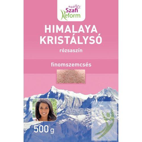Szafi Reform Himalaya kristálysó - rózsaszín finomszemcsés 500 g