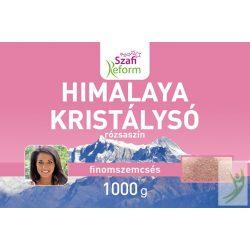 Szafi Reform Himalaya kristálysó - rózsaszín finomszemcsés 1000 g