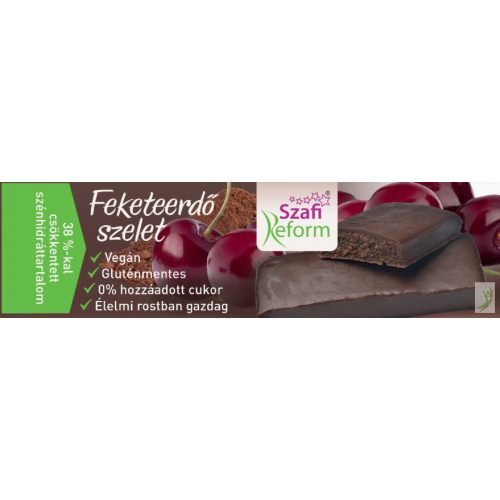 Szafi Reform Feketeerdő ízű szelet 25 g