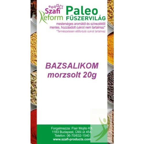 Szafi Reform Gluténmentes Paleo BAZSALIKOM morzsolt fűszer 20 g