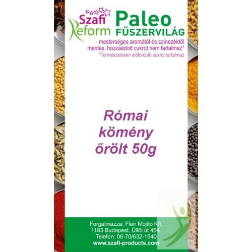 Szafi Reform Gluténmentes Paleo RÓMAI KÖMÉNY őrölt fűszer 50 g