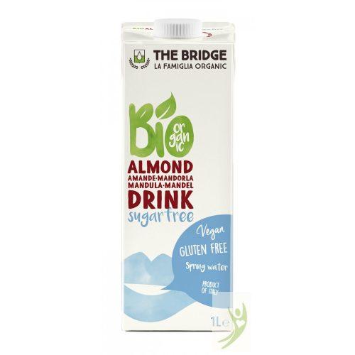 The Bridge Bio Gluténmentes CUKORMENTES Mandulaital (3%) - NATÚR 1000 ml
