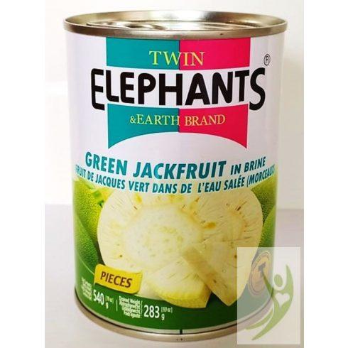 Twin Elephants Zöld Jackfruit húspótló 540 g